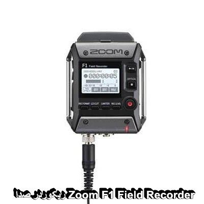 Zoom F1 Field Recorder with Lavalier Microphone